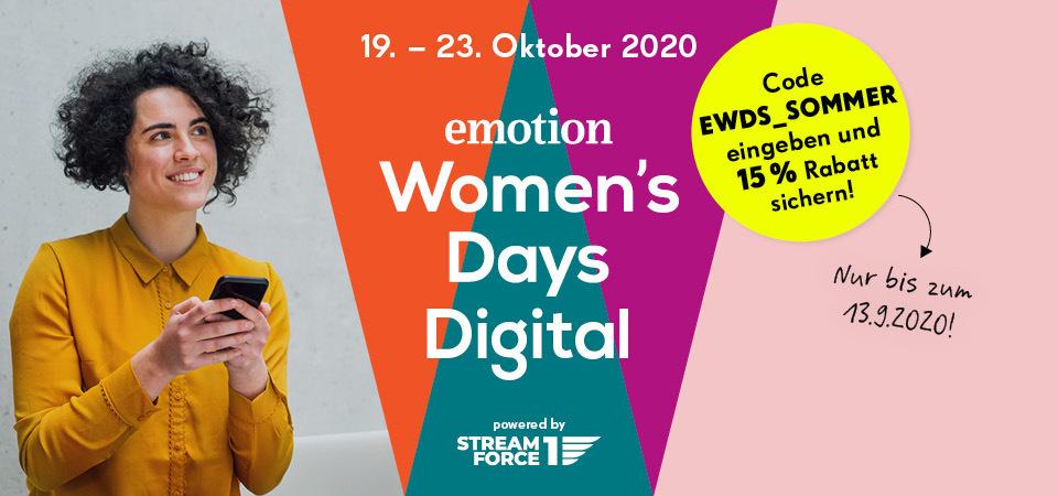 emotion womens day rabatt