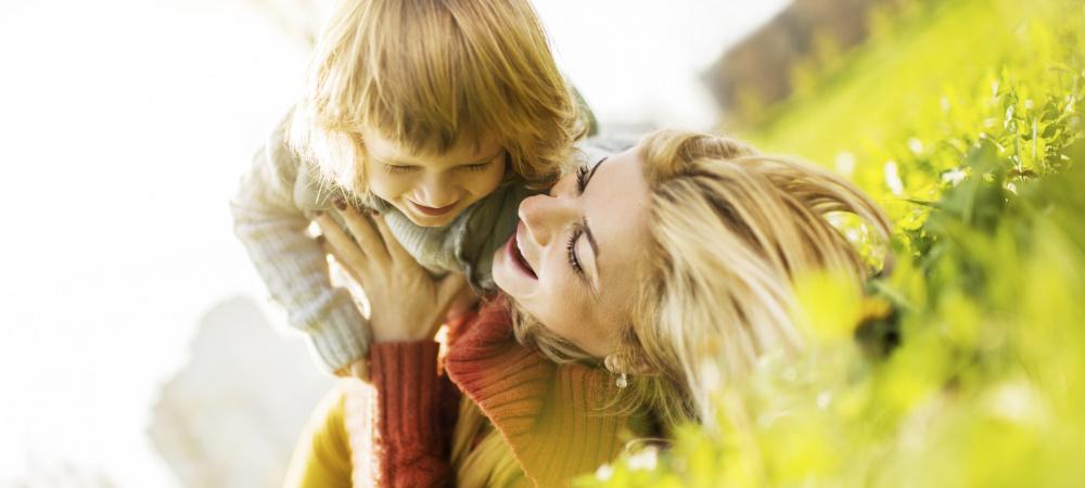 Mutter-Tochter-Glück