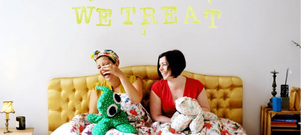 Anna Zoe und Nadine von Wetreat