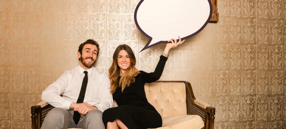 Kommunikation Frau und Mann