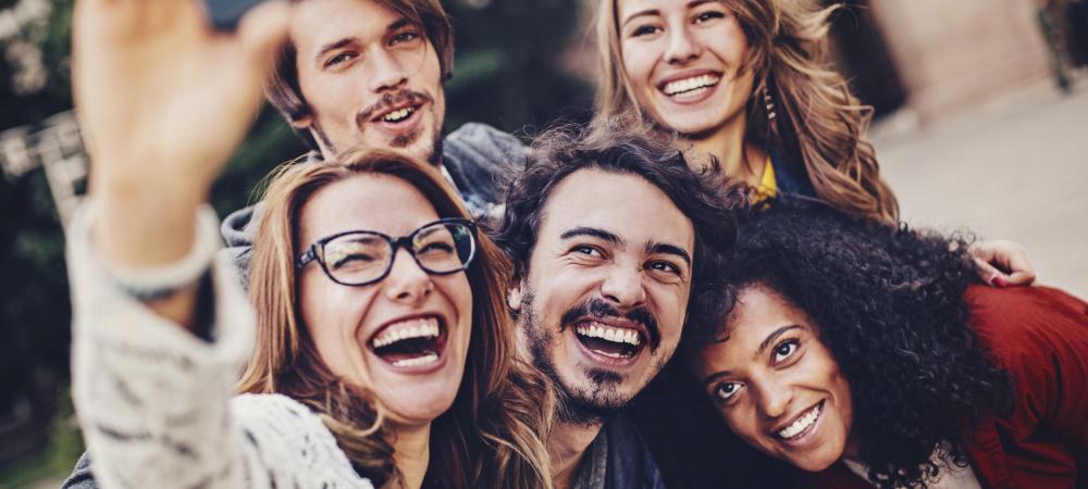 Gruppen-Selfie: Groupie