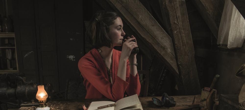 Anne Frank - Filmszene in Dachkammer