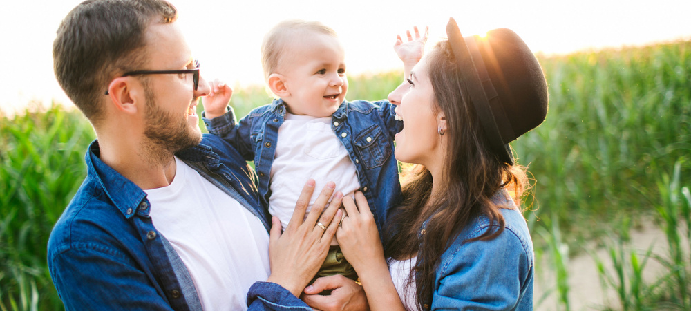 Eltern und Kind
