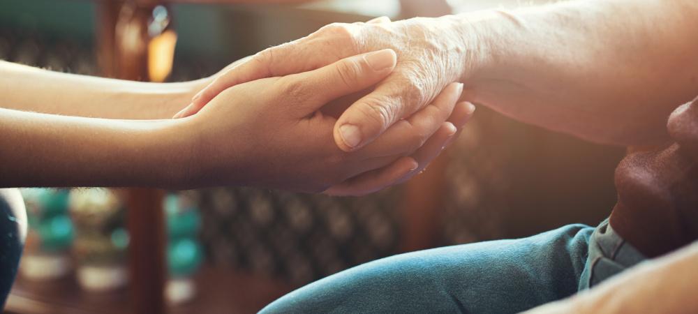 Eltern sind Pflegefall