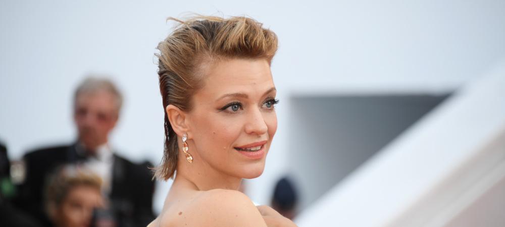 Heike Makatsch auf dem roten Teppich in Cannes