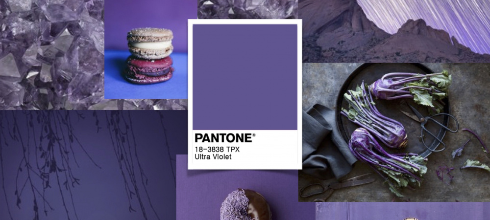 Pantone Farbe des Jahres 2018 Ultra Violet
