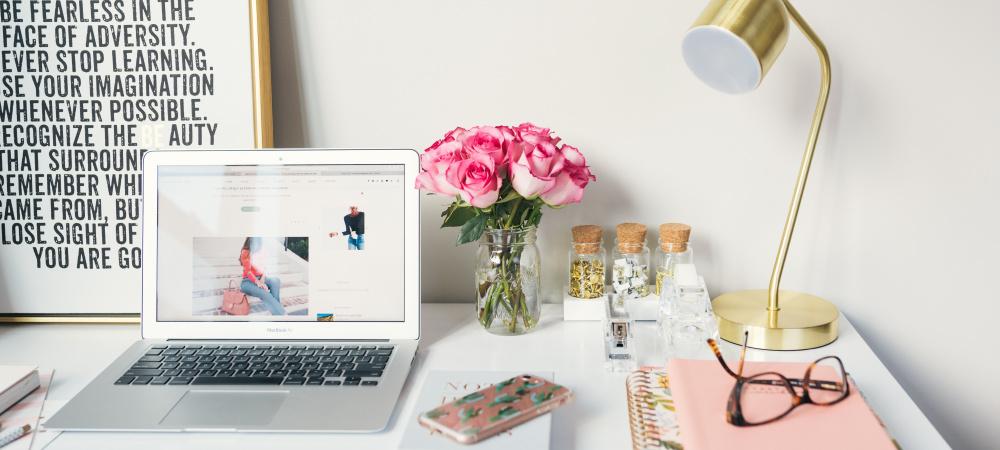 Schreibtisch aufpimpen