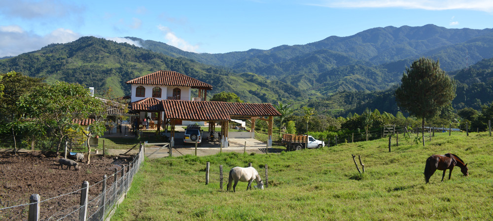 Kolumbien: Grundstück