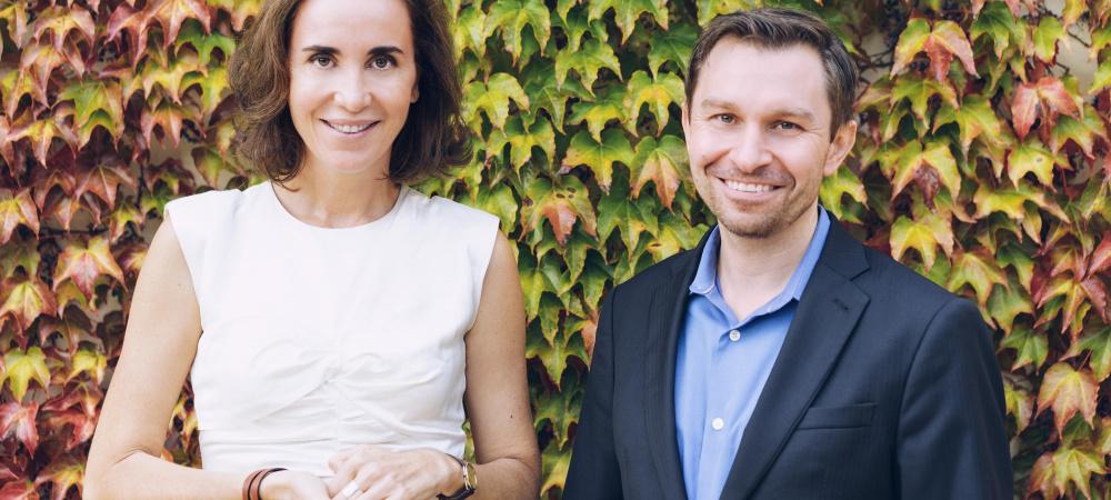 Caudalie Gründerin Mathilde Thomas und Havard Professor Dr. Sinclair