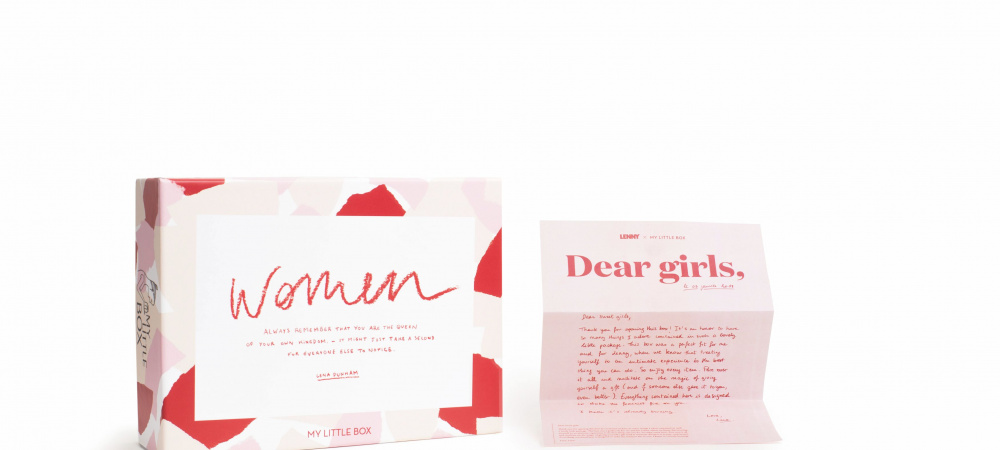 Lena Dunham x My little Box