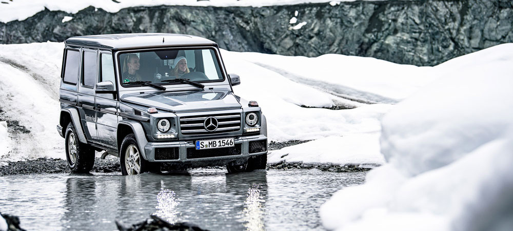 She's Mercedes in Kitzbühel