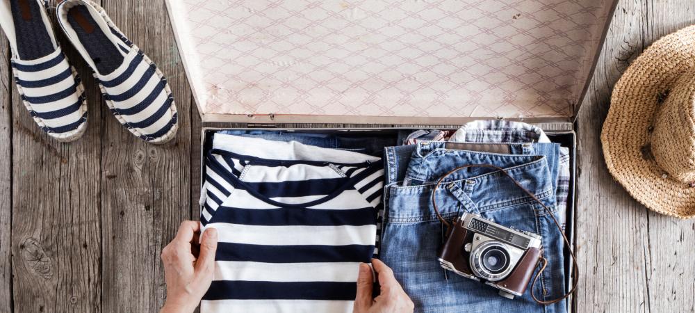Koffer packen mit System