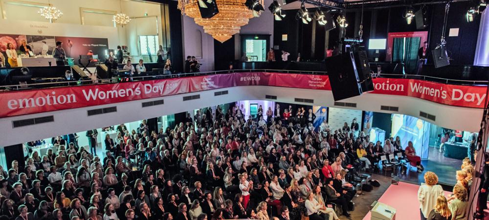 EMOTION Women's Day mit Accenture