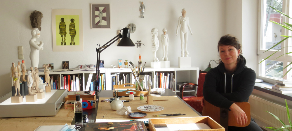 Katharina Andress Atelierbesuch