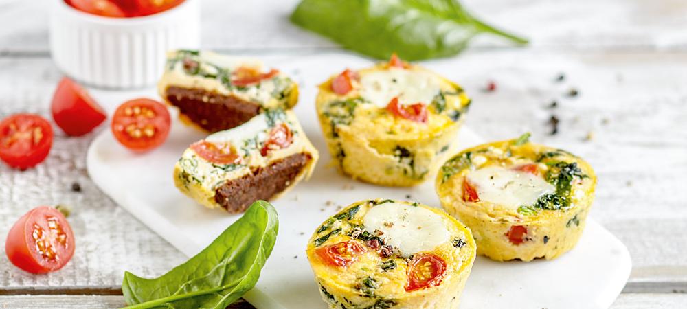Blitzschnelle Rührei-Muffins