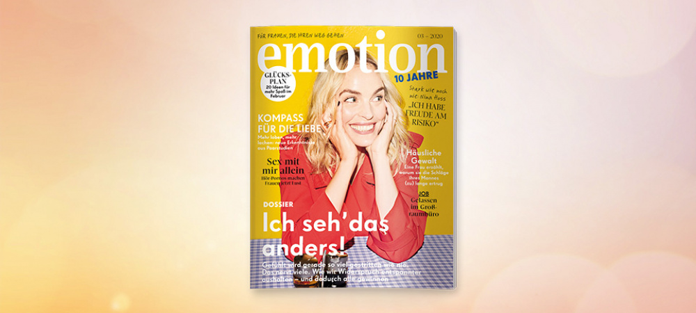 EMOTION Magazin 03/20