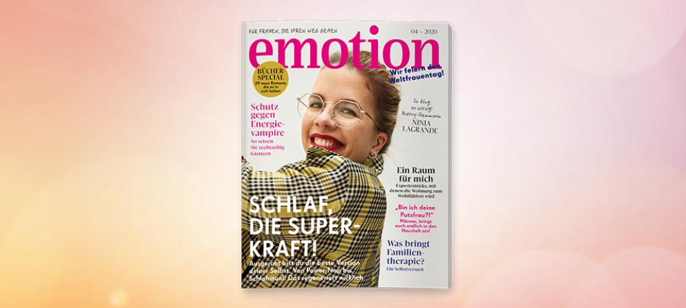 Die neue EMOTION ist da! Heft 04/2020