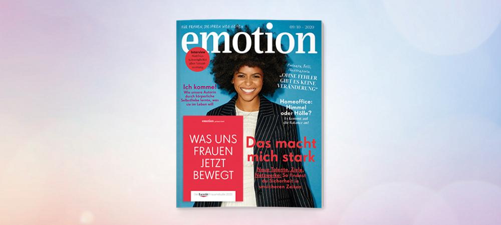 Neue Ausgabe EMOTION Magazin 091020