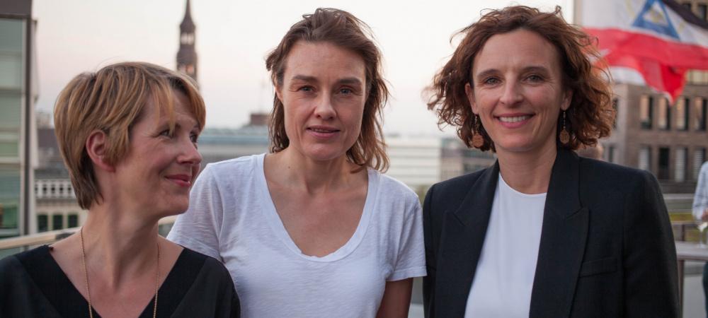 Andrea Huss, Katja Krause und Katarzyna Mol-Wolf