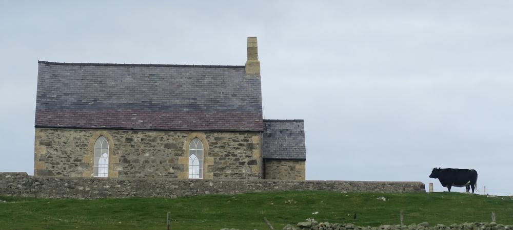 Haus auf Fair Isle