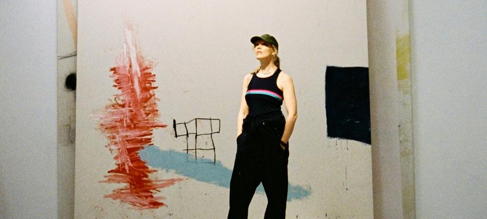 Jenny Brosinski in ihrem Studio
