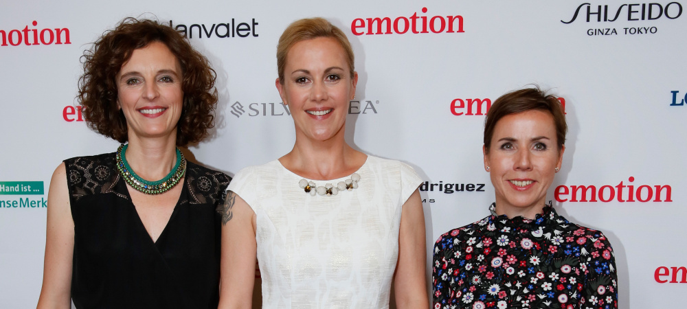 Kasia Mol-Wolf, Bettina Wulff und Anke Rippert