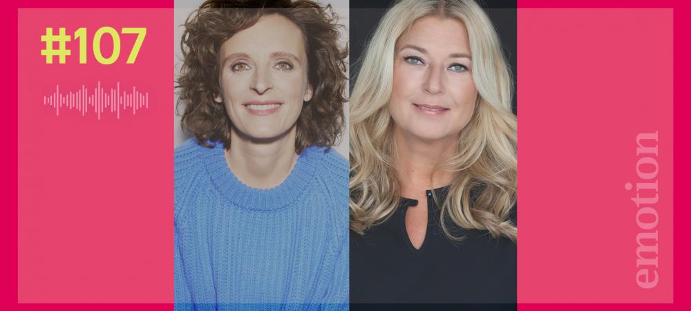 Kasia Mol-Wolf und Angela Kablitz von Comma