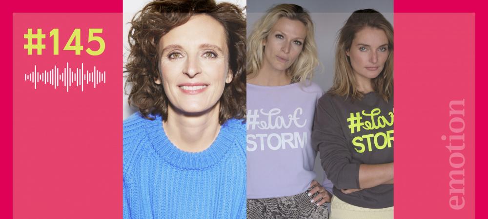 Kasia Mol-Wolf, Mia Florentine Weiss und Marie von den Benken