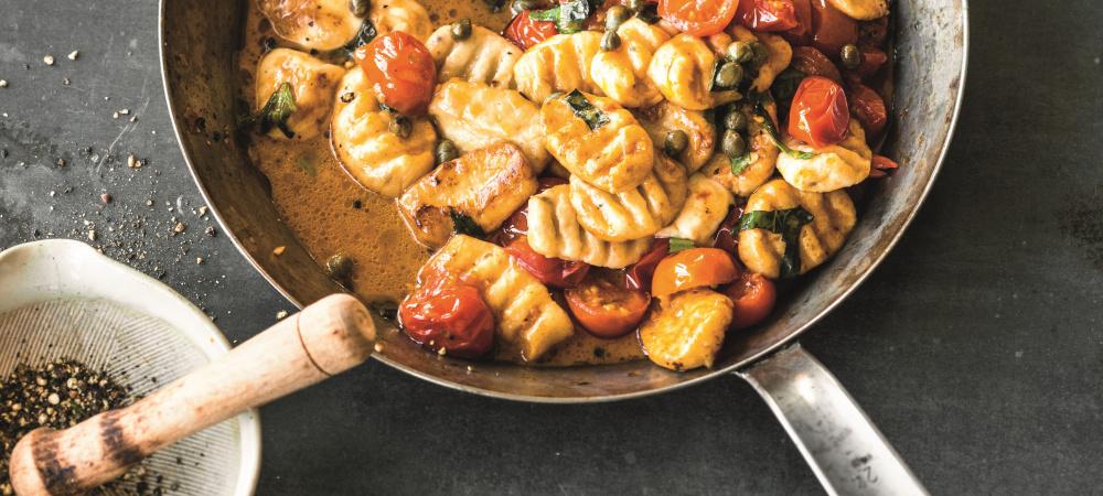Ricotta Gnocci mit Tomaten