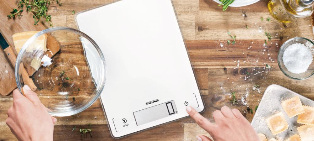 Digitale Küchenwaage von Soehnle Leifheit