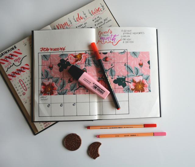 Kalender zur Motivation 2019 - Ein guter Plan