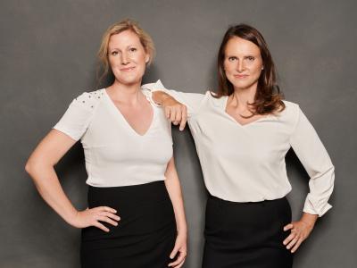 Astrid Zehbe und Daniela Meyer von finanzielle