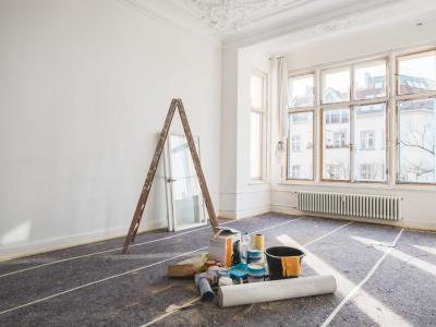 Altbauwohnung wird renoviert