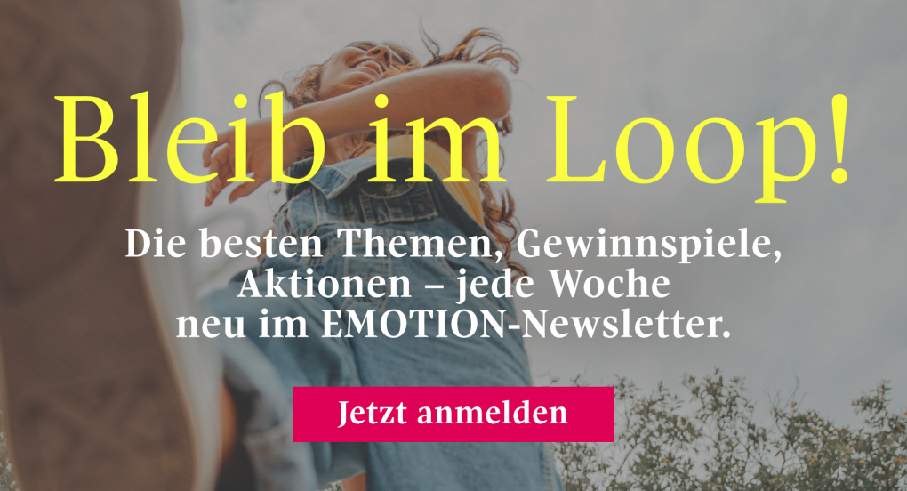 EMOTION Newsletter - meld dich an!