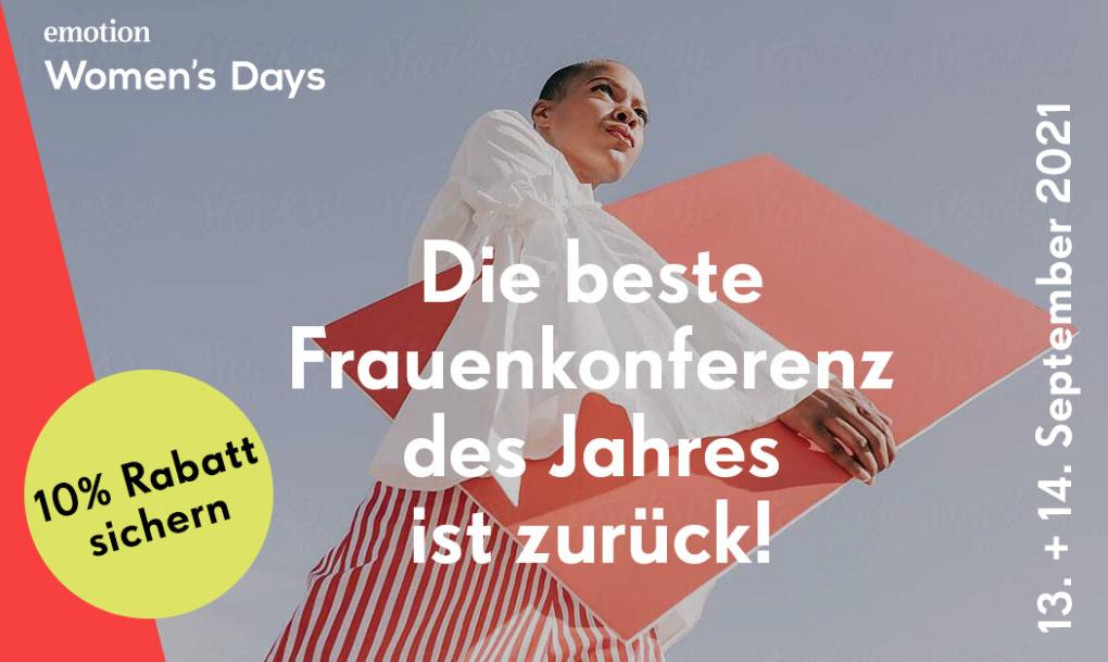 EMOTION Women's Days 2021 - am 13. und 14. September