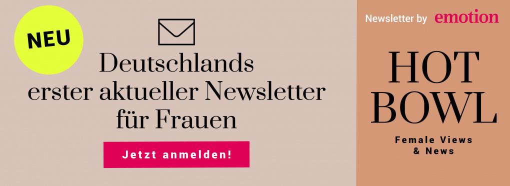 HOT BOWL – Deutschlands erster aktueller Newsletter für Frauen