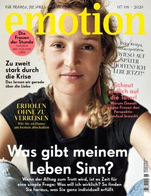 Die neue EMOTION ist da! Doppelausgabe Juli/August 2020