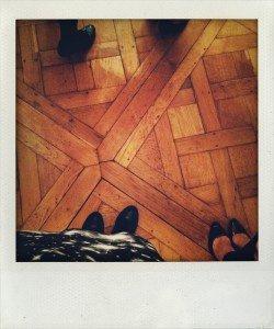 Schloss-Fußboden