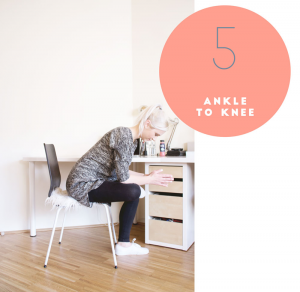 Yoga: Ankle to knee