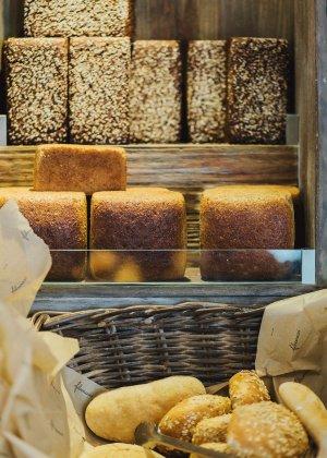 Brot in Bäckerei