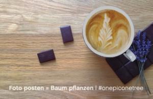 Instagram-Aktion #onepiconetree