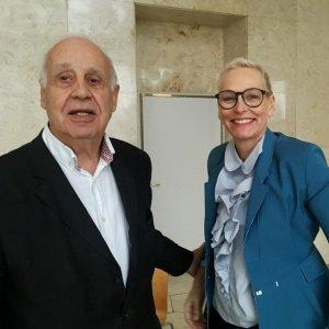 Jean Ziegler und Bärbel Schäfer