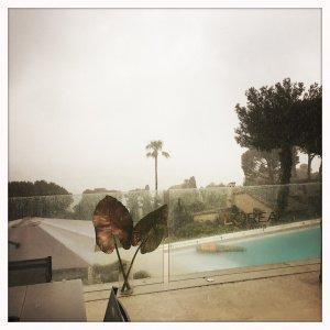 Regen in Cannes