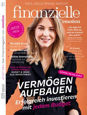 finanzielle Cover Ausgabe 1