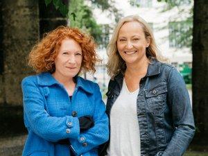 Monia Bittl und Silke Neumayer