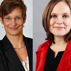 Dr. Kareen Seidler und Eva Ullmann