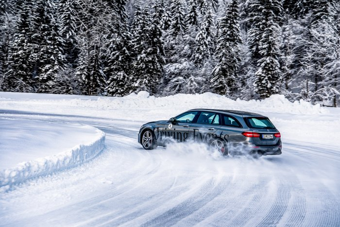 Mercedes Wintertraining 2