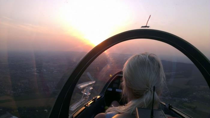 Aussicht aus Cockpit