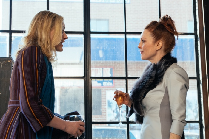 Greta Gerwig und Julianne Moore in Maggies Plan (Film)