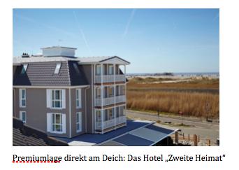 My Slow Place Das Hotel Zweite Heimat In St Peter Ording Www Emotion De
